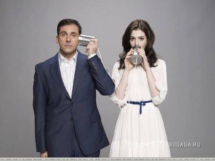 Anne Hathawaу & Steve Carell