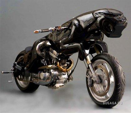 Концепт: мотоцикл Jaguar