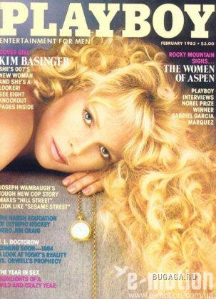 Молодая Ким Бесинджер в журнале Playboy (1983 год)