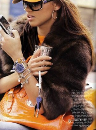 Adriana Lima для Vogue-Paris (Ноябрь 2008)