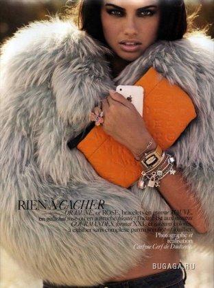 Adriana Lima для Vogue-Paris (Ноябрь 2008)