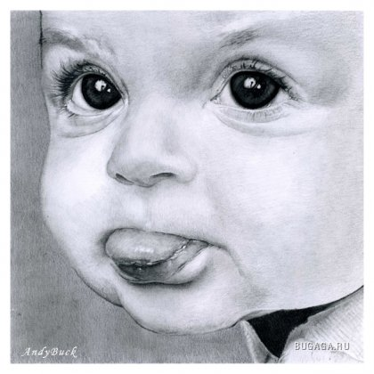 красивые рисунки карандашом от художника Andy Buckа
