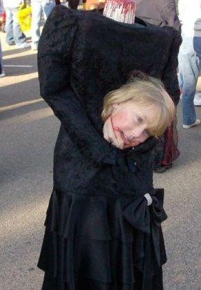 Зачотный костюм на Хеллоуин для девочки :)