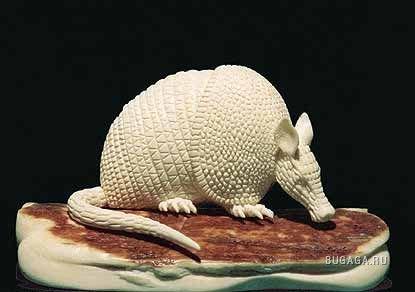 ювелирная работа на слоновой кости