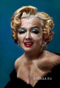 Как выглядели бы Мэрилин Монро, Гитлер и Брюс Ли