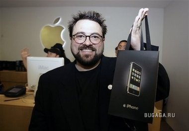 iPhone — любимый гаджет звёзд