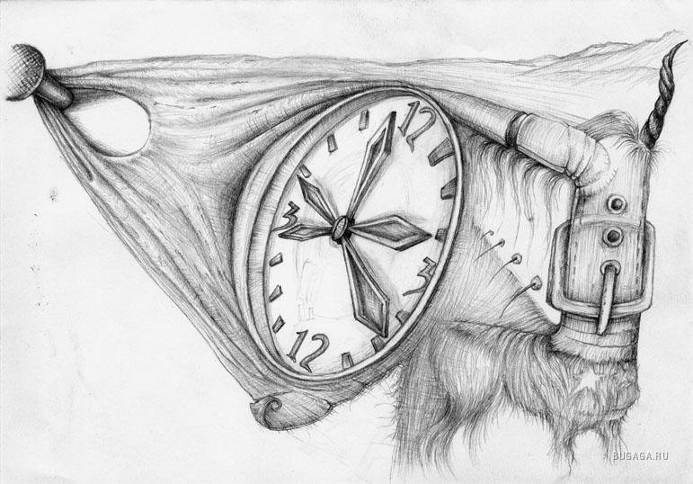 сюрреализм рисунки карандашом поэтапно для начинающих отдыхают круглый год