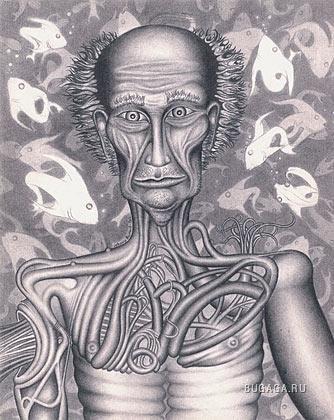 Люди, много людей от художника Jon Beinart