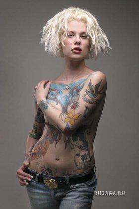 Татуированные модели