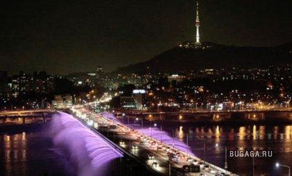 Фонтан в Сеуле