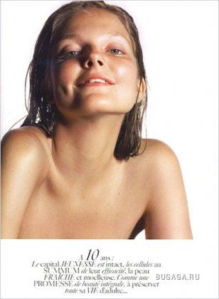 Что может сделать макияж с 20-летней моделью