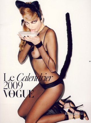 Терри Ричардсон снял pinup-календарь для Vogue