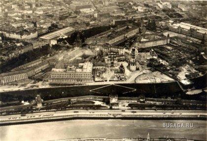 Старая Москва с высоты птичьего полета