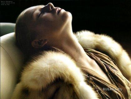 Мария Шарапова для Vogue