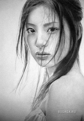 Красота в карандаше