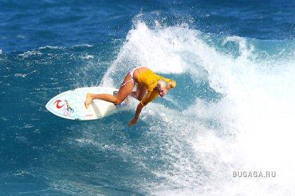 Удивительная серфингистка Бетани Хэмилтон