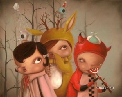 Сюрреалистичные картинки от Кэти Оливас