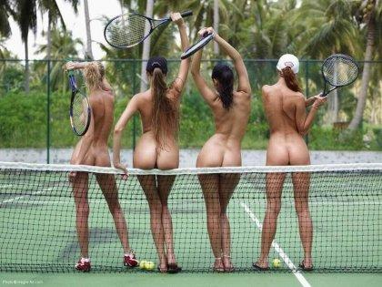 Эротичный теннис