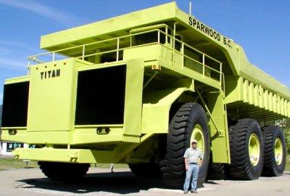 Terex Titan - самый большой грузовик в мире