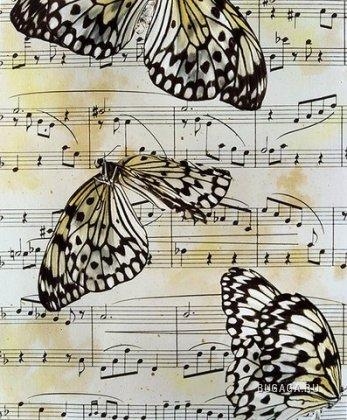 Бабочки от Jo Whaley