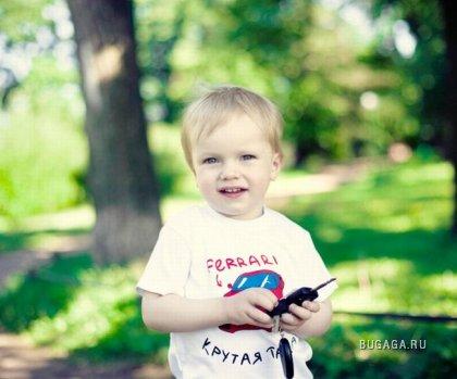 Детские футболки с шикарными надписями