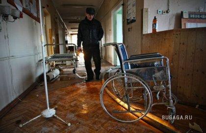 Брошенная больница в Калининграде