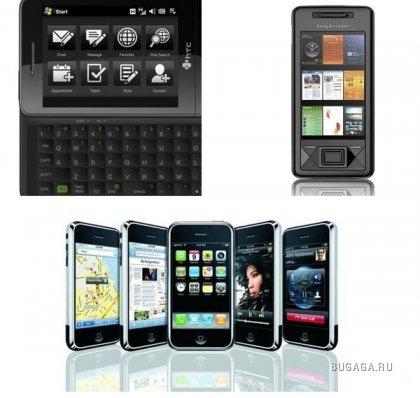 Топ 10 лучших смартфонов 2008 года