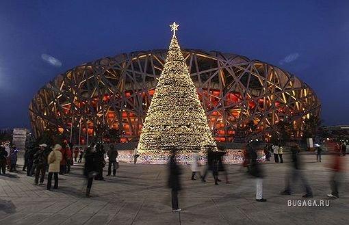 что существуют угроза безопасности граждан западных стран, которые встречают рождество в столице китая