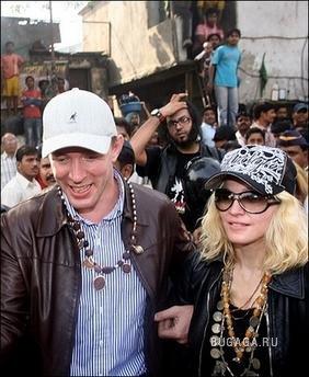 Гай Ричи и Мадонна