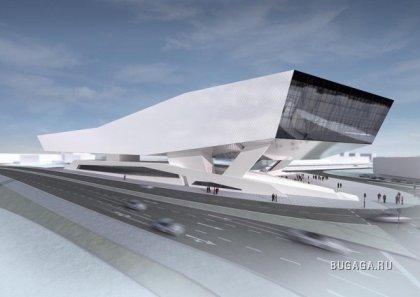 Новый музей Porsche в Штутгарте