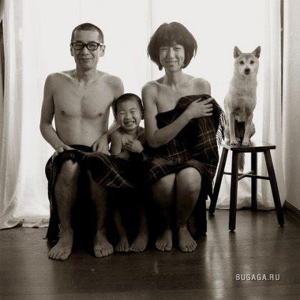 Домашние фотографии Акихиро Фурута