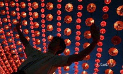 В Китае встретили Новый год