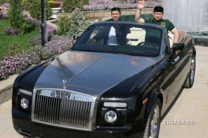 Автомобили Рамазана Кадырова