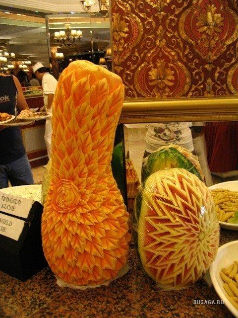 Мастер класс карвинг резьба по овощам и фруктам