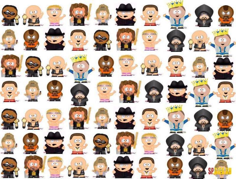 персонажи южного парка в картинках и их имена