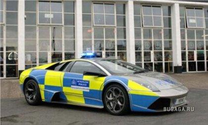 Полицейские машины в разных странах мира