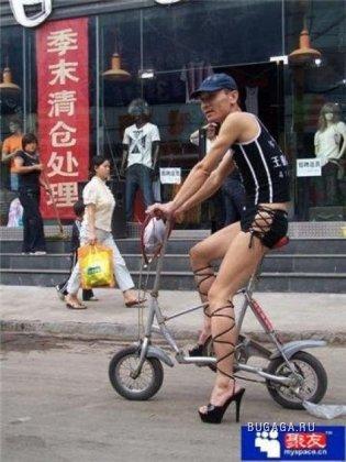 Китайские законодатели мужской моды