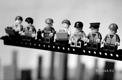 Классика в LEGO — исторические фотографии