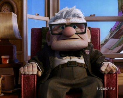 Вверх (UP) - мультфильм от Pixar