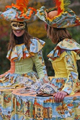 Венецианский карнавал. Костюмы