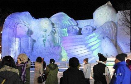 Фестиваль Снега в Саппоро (Япония)