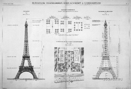 Создание Эйфелевой башни