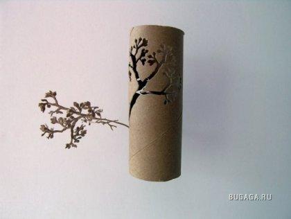 Креатив: деревья из бумаги