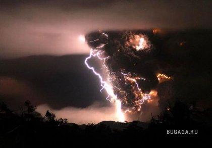 Извержение вулкана Чайтен