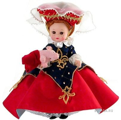 Очаровательные куклы от madame Alexander.