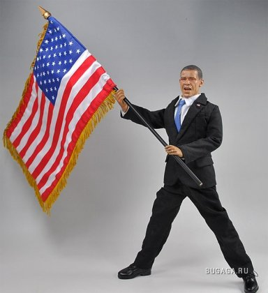 Игрушечный Барак Обама