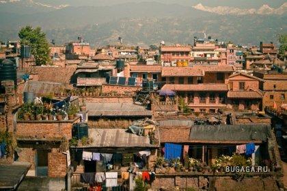 Крыши Непала