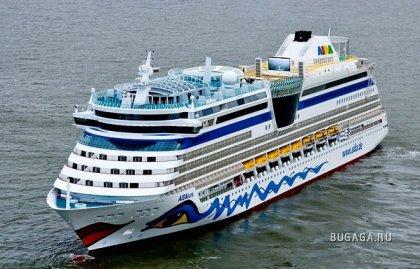 Новый круизный лайнер Aida Luna