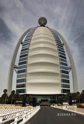 Бурдж Аль Араб - Самая роскошная гостиница в мире