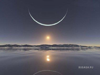 Красивые фото луны